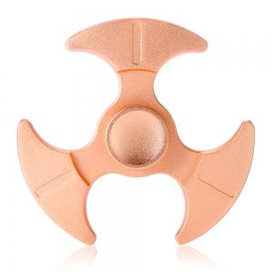 Tri-bladed Axe Zinc Alloy Fidget Spinner Stress Relief Product Adult Fidgeting Toy - Rose Gold - 6*6cm