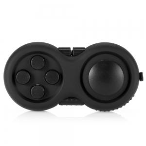 Magic Cube Style Fidget Spinner Funny Stress Reliever Relaxation Gift - Black