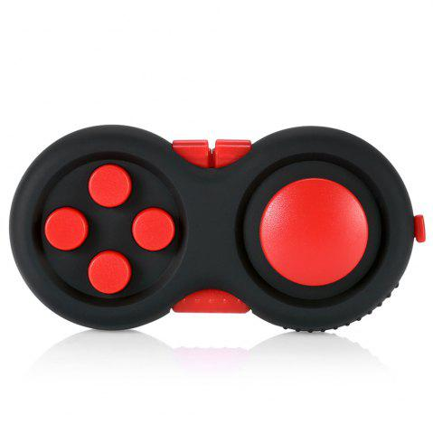 Best Magic Cube Style Fidget Spinner Funny Stress Reliever Relaxation Gift RED