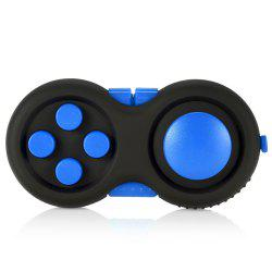 Magic Cube Style Fidget Spinner Funny Stress Reliever Relaxation Gift - BLUE