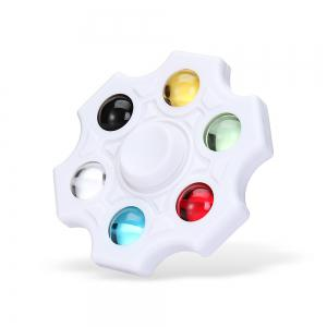 Six-blade Fidget Spinner Stress Reliever Toy Relaxation Gift - White - Us Plug