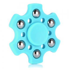 Hexagon ABS Fidget Spinner with r188 Bearing Stress Relief Product Adult Fidgeting Toy -