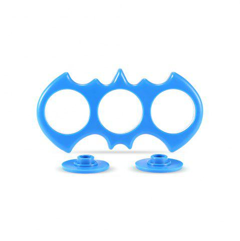 Owl-shaped ABS Frame for ADHD Fidget Hand Spinner - Blue - M