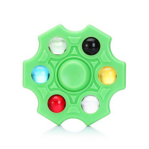 Outfits Six-blade Fidget Spinner Stress Reliever Toy Relaxation Gift GREEN