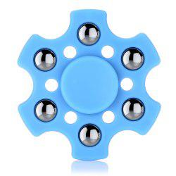 Hexagon ABS Fidget Spinner with r188 Bearing Stress Relief Product Adult Fidgeting Toy