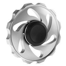 Circular Spinning Blade Aluminum Alloy Fidget Spinner Stress Reliever Toy Relaxation Gift