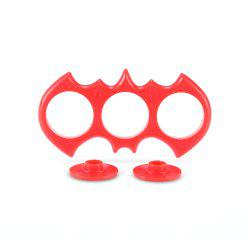 Owl-shaped ABS Frame for ADHD Fidget Hand Spinner - RED