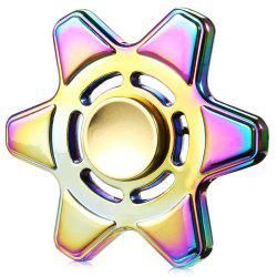 Hexagram Zinc Alloy ADHD EDC Fidget Spinner Stress Reliever Toy Relaxation Gift