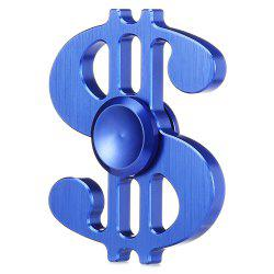 Dollar Style Aluminum Alloy ADHD Fidget Spinner Pressure Reducing Cheap Fidget Toy for Office Worker