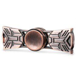 Engraved EDC Zinc Alloy Fidget Spinner Funny Stress Reliever Relaxation Gift - ROSE GOLD