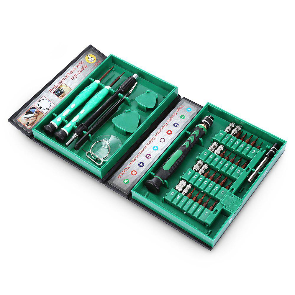 AC - 8 38 in 1 Compact Screwdriver Kit Repairing ToolHOME<br><br>Color: COLORMIX; Model: AC - 8; Steel Material  : SII Steel; Screw Head Type: All-in-One; Special function: Repairing Tool;