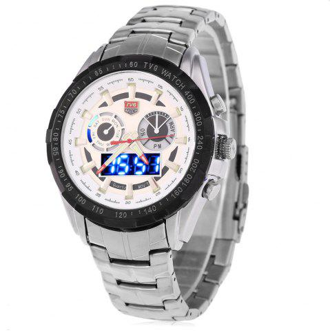 Cheap Tvg 579 Luminous LED Military Outdoor Sports Wristwatch Men Multifunction Dual Time Watches