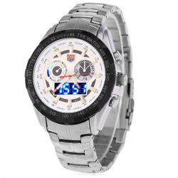 Tvg 579 Luminous LED Military Outdoor Sports Wristwatch Men Multifunction Dual Time Watches