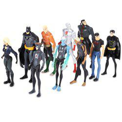 Figurine Anime Collectible PVC Action Figure New Year Present - 10pcs / set -