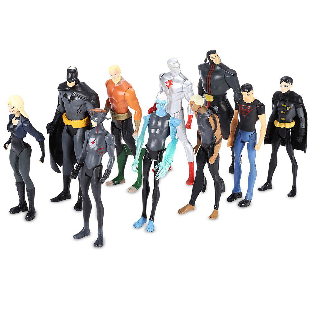 New Figurine Anime Collectible PVC Action Figure New Year Present - 10pcs / set