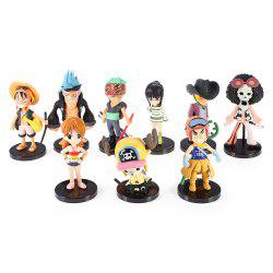 Figurine PVC Figurine Collectible Action Collectible - 9pcs / set -