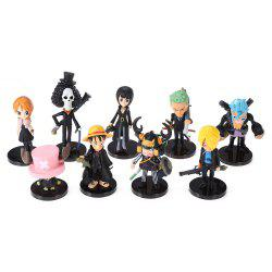 Figurine Articulée de Collection en PVC - 9pcs /Ensemble -