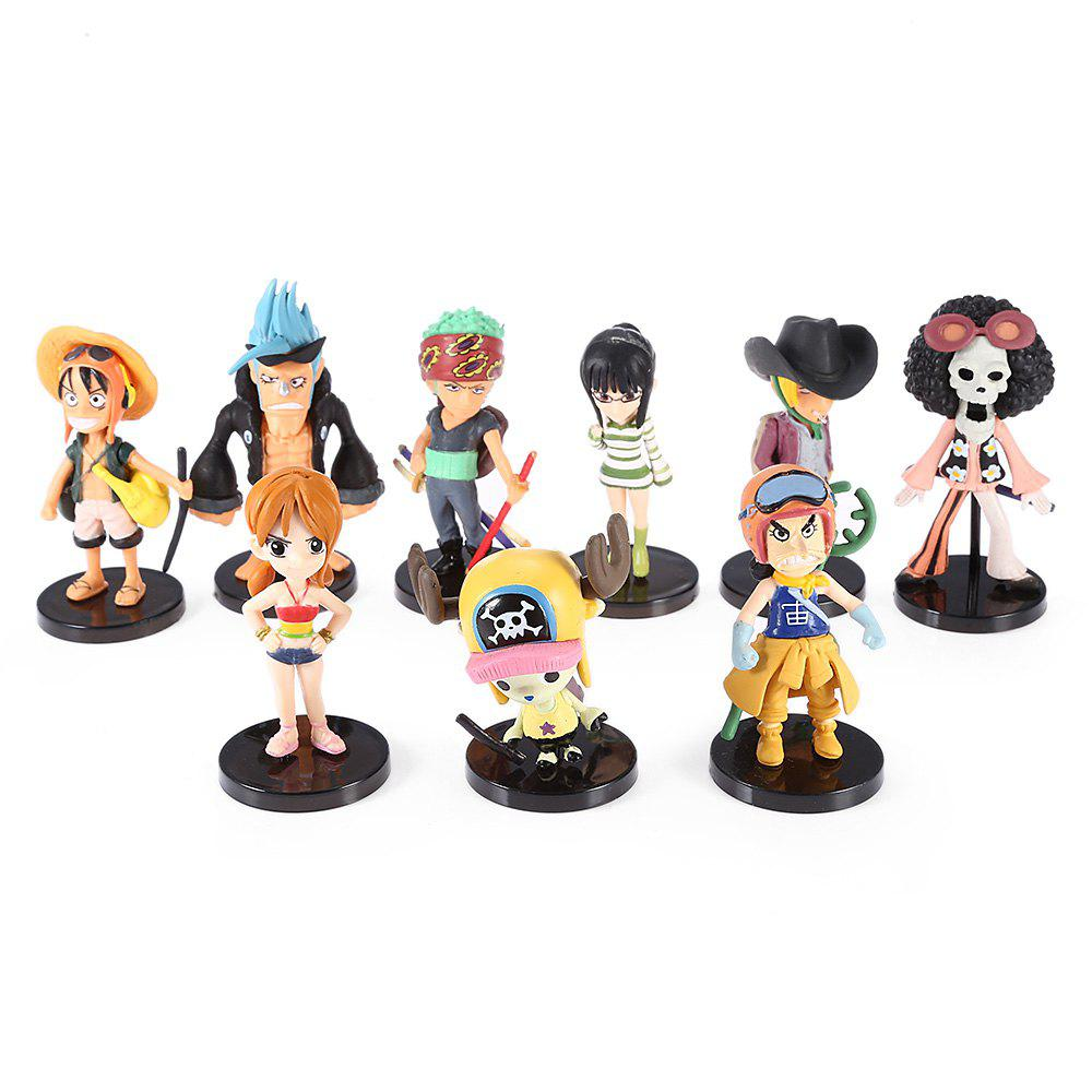 Figurine PVC Figurine Collectible Action Collectible - 9pcs / set