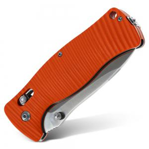 Ganzo G720 Folding Knife Window Breaker Multifuntional Tactical Tool with 440C Blade -