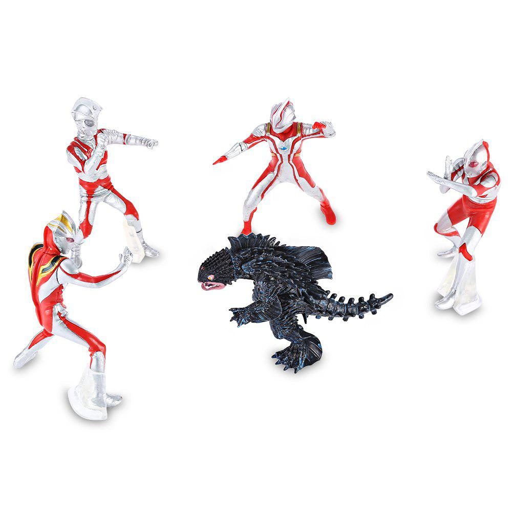 Figurine Animation Collection PVC Action Figure - 5pcs / ensemble