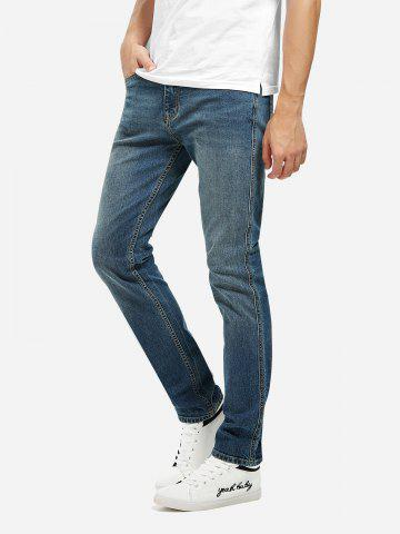 New Mid Rise Skinny Jeans - 31 BLUE Mobile