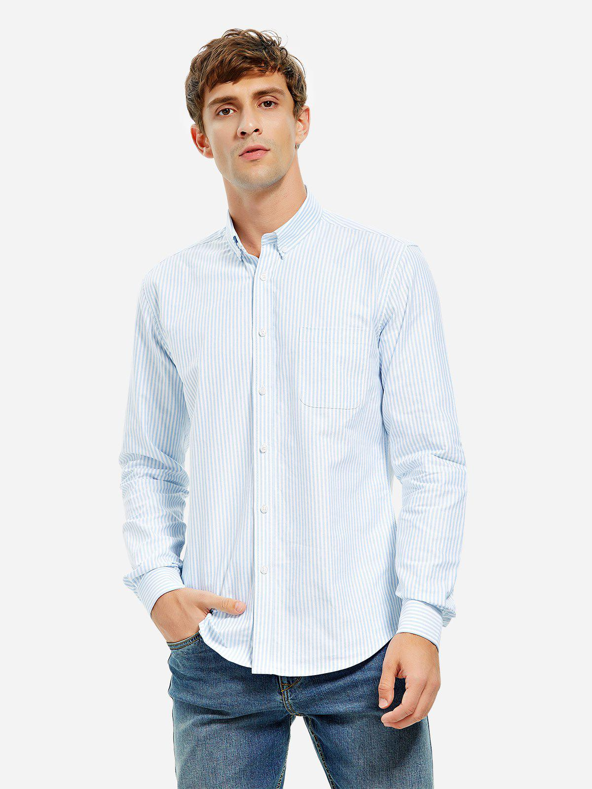 Fancy Cotton Oxford Dress Shirt