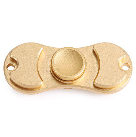 Unique Aluminum Alloy Bearing Gyro Style Stress Reliever Pressure Reducing Toy for Office Worker