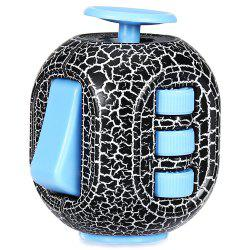 Crack Fidget Cube Style Stress Reliever Pressure Reducing Toy for Office Worker -