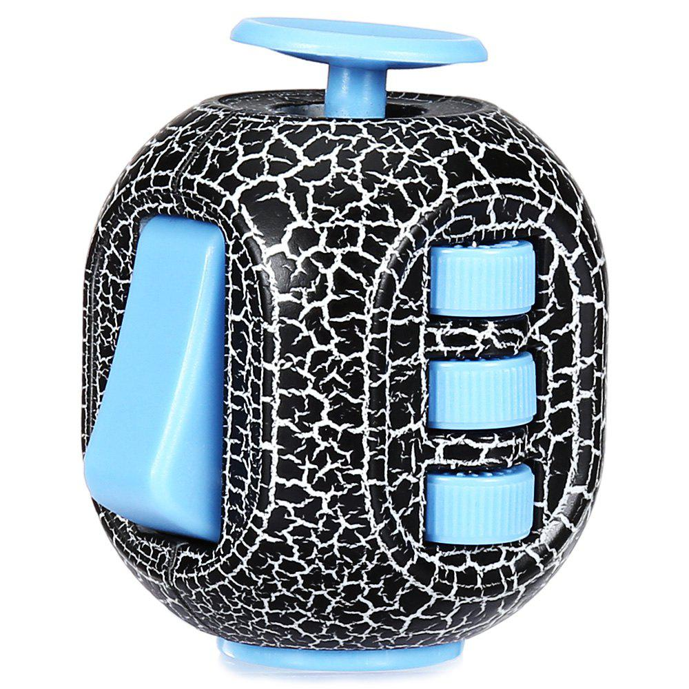 Outfit Crack Fidget Cube Style Stress Reliever Pressure Reducing Toy for Office Worker