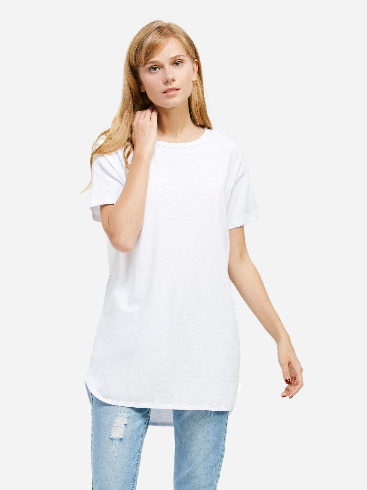 Fashion ZAN.STYLE Longline T-shirt
