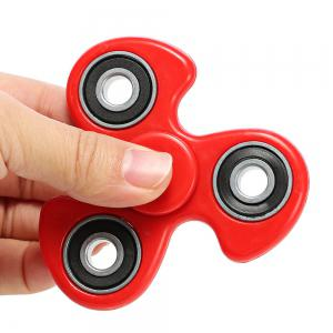 608 ABS Fidget Spinner Stress Relief Product Adult Fidgeting Toy - RED