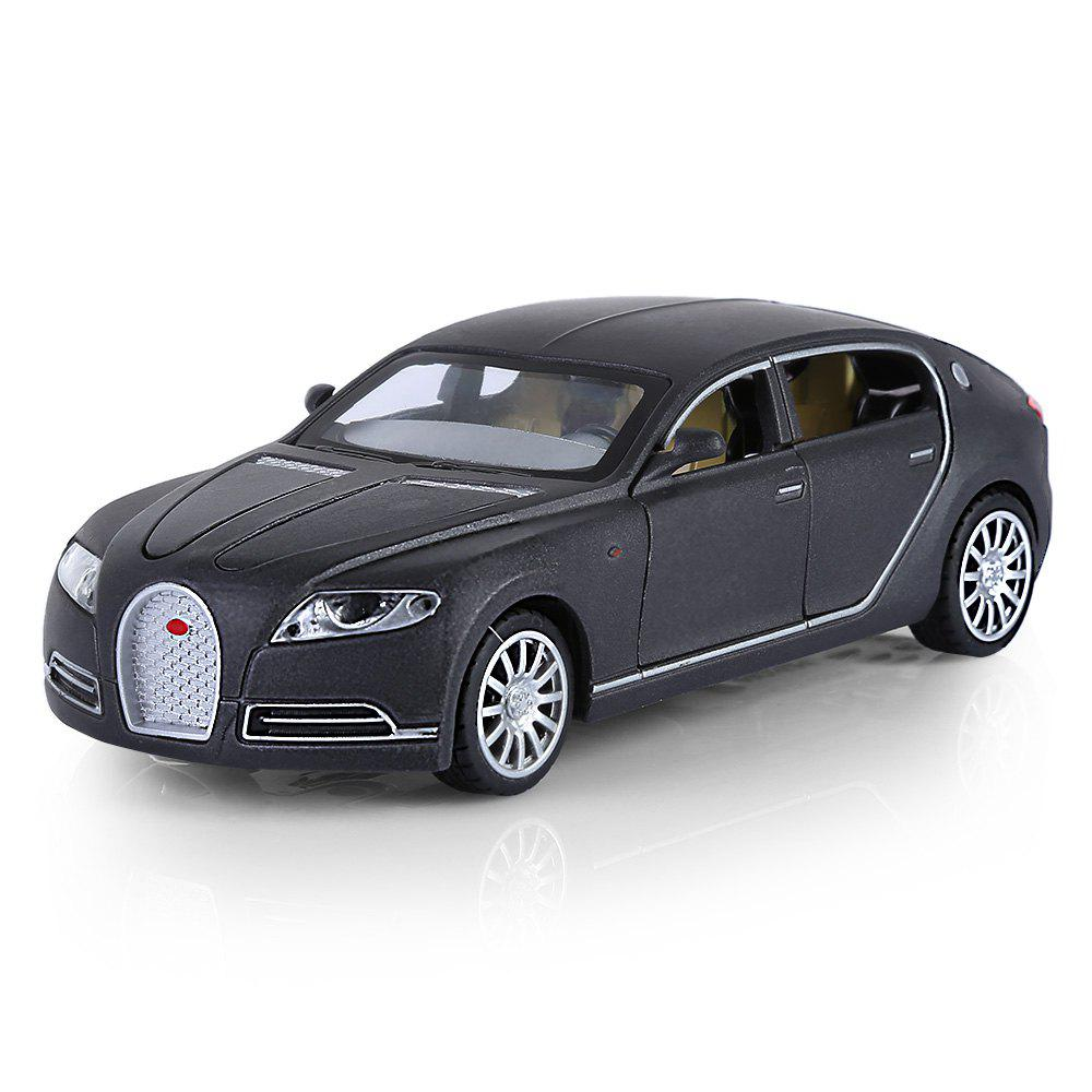 Buy 1:32 Aluminum Alloy Car Model Pullback Vehicle Collection Toy with Music Light