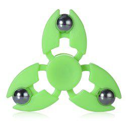 Tri-blade Steel Ball Crab Claws Fidget Spinner EDC ADHD Focus Toy -