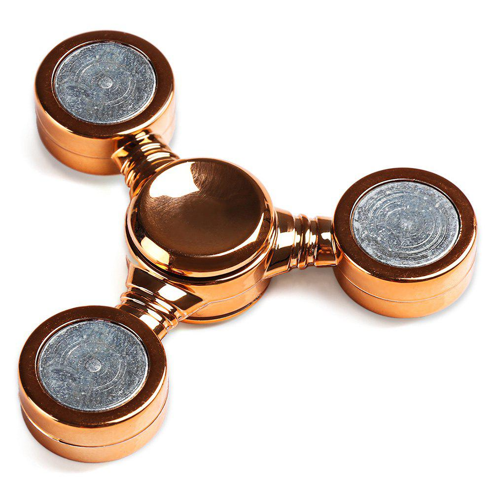 Unique Tri-spinner Fidget Spinner Stress ADHD Relief Toy for Adult