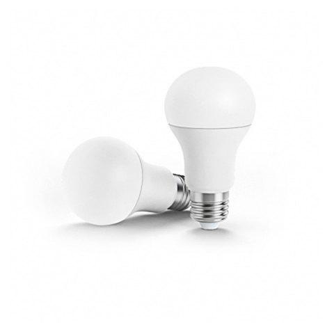 Outfit Xiaomi Philips 6.5W E27 220 - 240V 450LM 3000 - 5700K Stepless Dimming Smart LED Ball Lamp - WHITE  Mobile