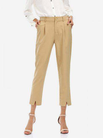Store Ankle Length Cropped Pants KHAKI M