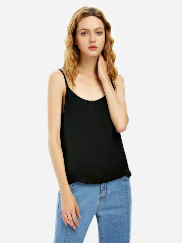 Affordable Camisole Top - XL BLACK Mobile