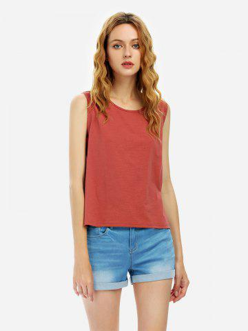 Outfit Cotton Tank Top - XL RUST Mobile