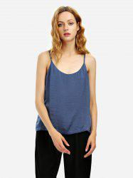 Camisole Top - BLUE GRAY M