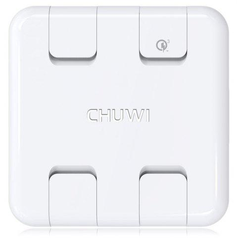 New CHUWI W - 100 QC 3.0 Desktop Power Station Dock Charger Adapter Quick Charge Four USB Output