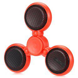 Bluetooth 4.0 Speaker LED Fidget Spinner with 5 Flashing Modes Communication Tool Music Player Fidgeting Toy for Adults -