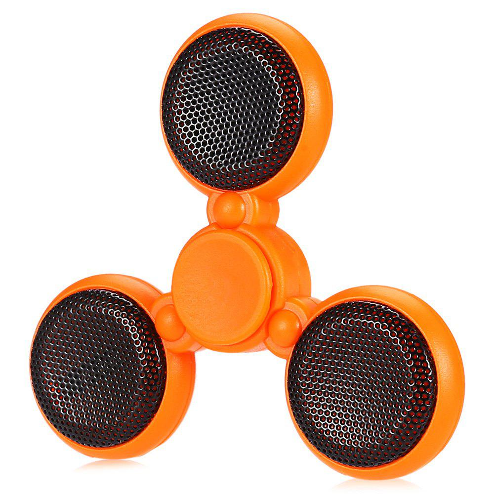 Best Bluetooth 4.0 Speaker LED Fidget Spinner with 5 Flashing Modes Communication Tool Music Player Fidgeting Toy for Adults