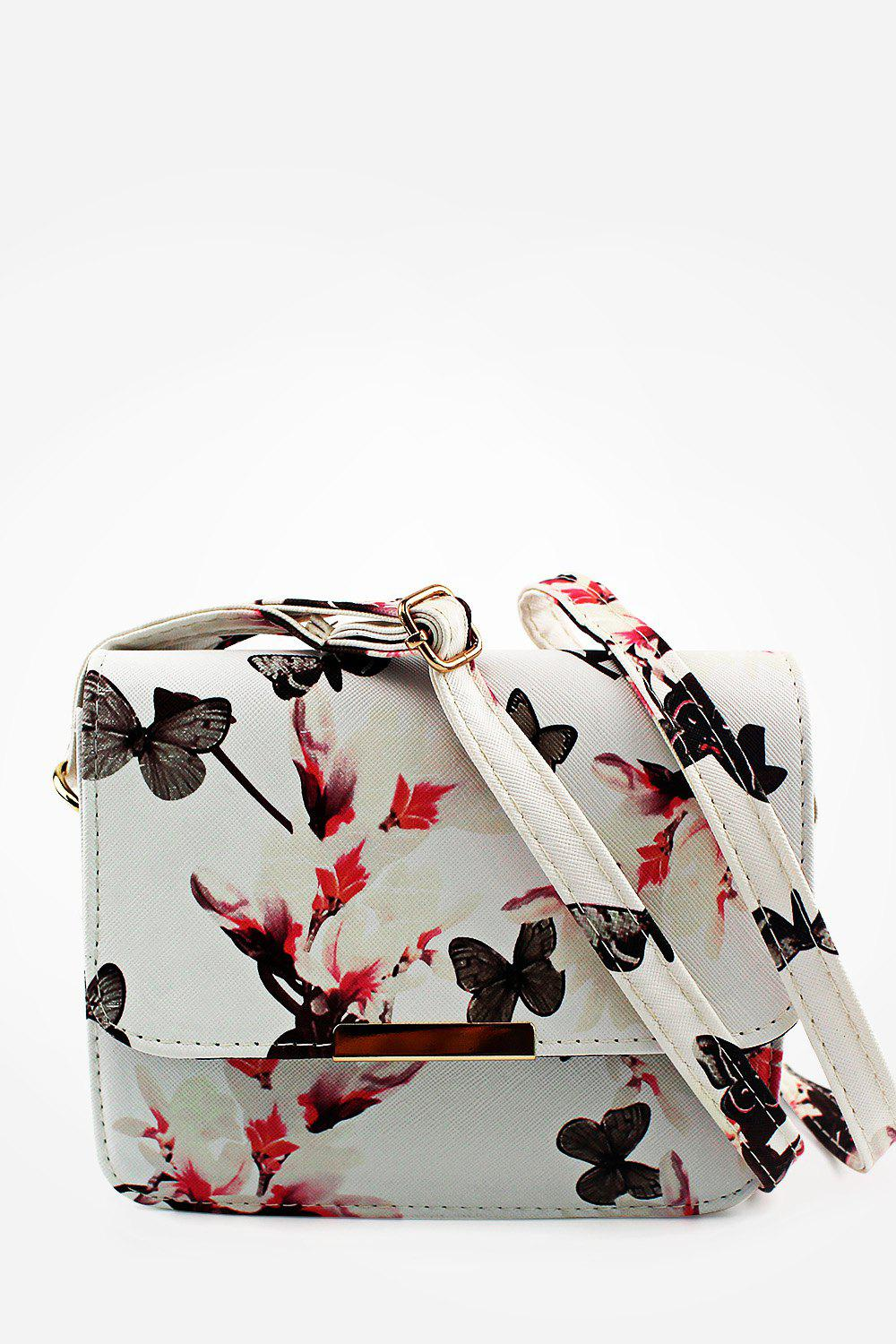 Unique Beautiful PU Leather Butterfly Handbag
