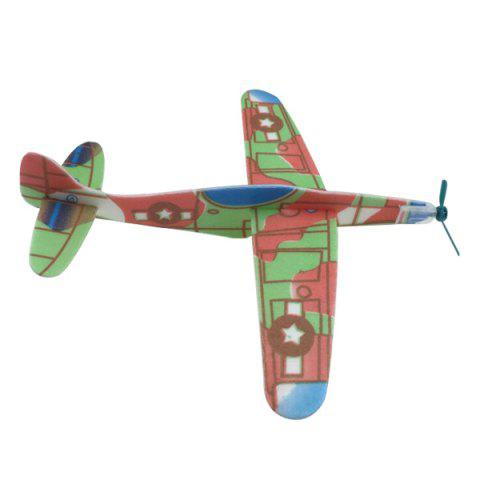 Discount DIY Assembly Model Aircraft Intelligent Toy - COLORMIX  Mobile