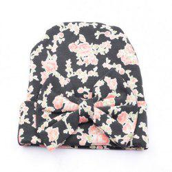 Bow Cotton Infant Baby Soft Cute Kid Hat Cap for Newborn -