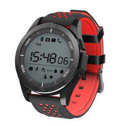 NO.1 F3 Sports Smartwatch Bluetooth 4.0 IP68 Waterproof Remote Camera Sedentary Reminder Sleep Monitor Pedometer -