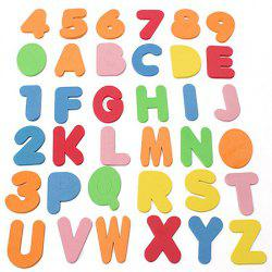 Educational Letters + Numbers Bath Toy Set -