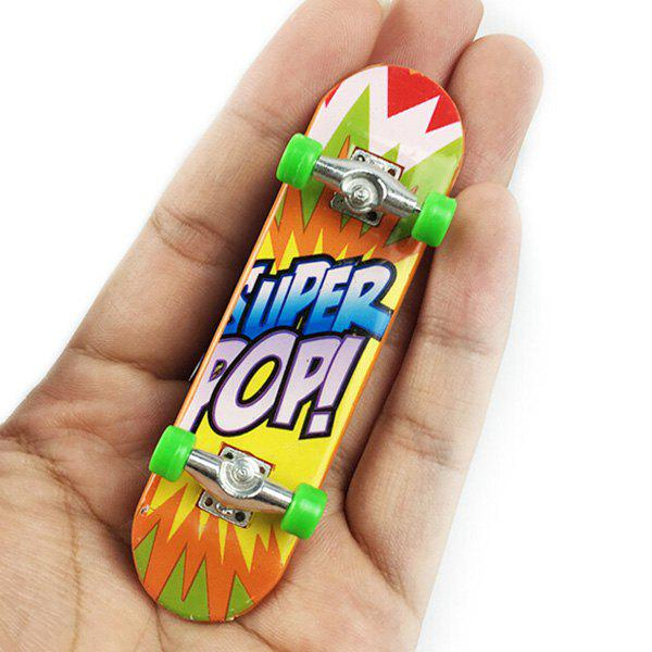 Best Mini Alloy Desktop Toy Skateboard with Various Pictures