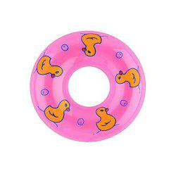 9cm Plastic Swimming Life Buoy for 1:6 Scale Baby Girl Doll House -