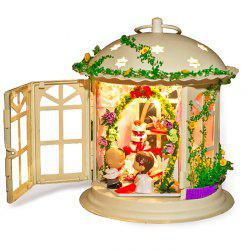 Creative DIY House Palace of Love Artificial Assembly Model Gift -